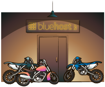 bluehost bar