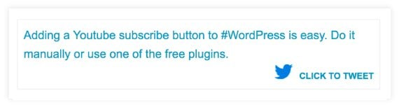 Better Tweet to Click plugin