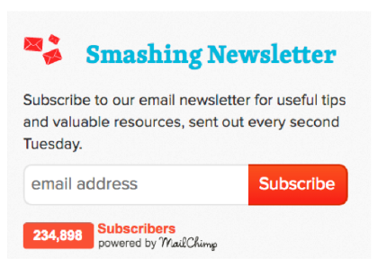 smashing newsletter