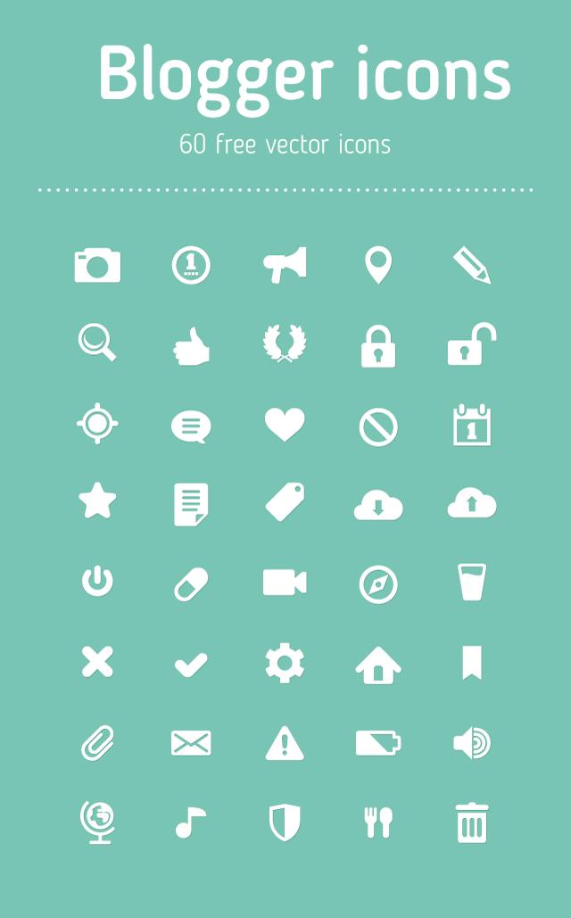 new-blogger-icons