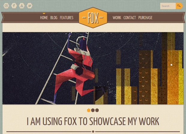 Fox Theme Screenshot