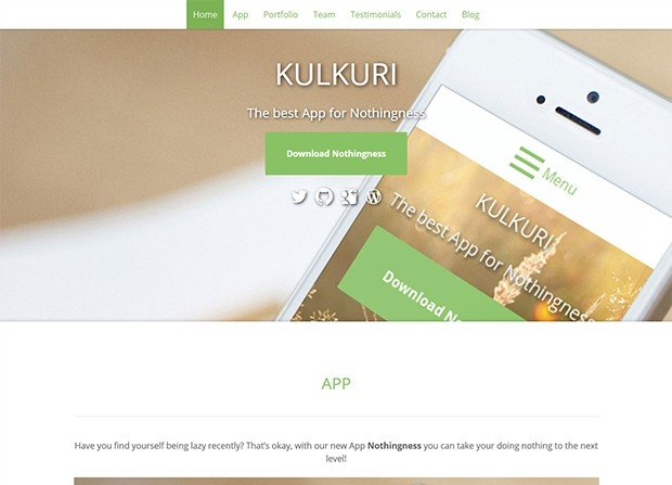 Kulkuri Theme Screenshot