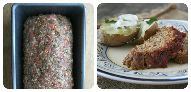 A Flavorful Meatloaf - Dish Picture