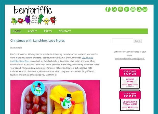 Bentoriffic - Website Screenshot
