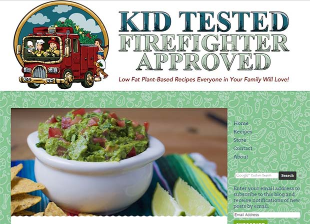 Kid Tested Firefighter Approved - Website Screenshot