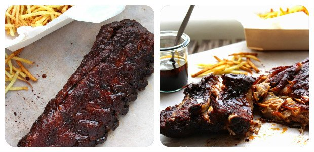 Oven-baked Sweet and Spicy Spare Ribs - Dish Picture