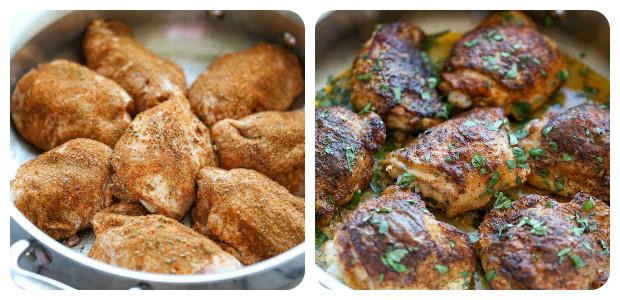 Southwest Buttermilk Baked Chicken - Dish Picture
