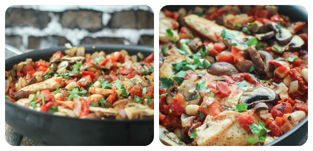 Tuscan Chicken Skillet - Dish Picture