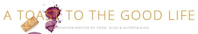 A Toast to the Good Life - Website Header/Logo
