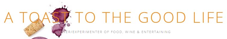 A Toast to the Good Life - Website Header/Logo