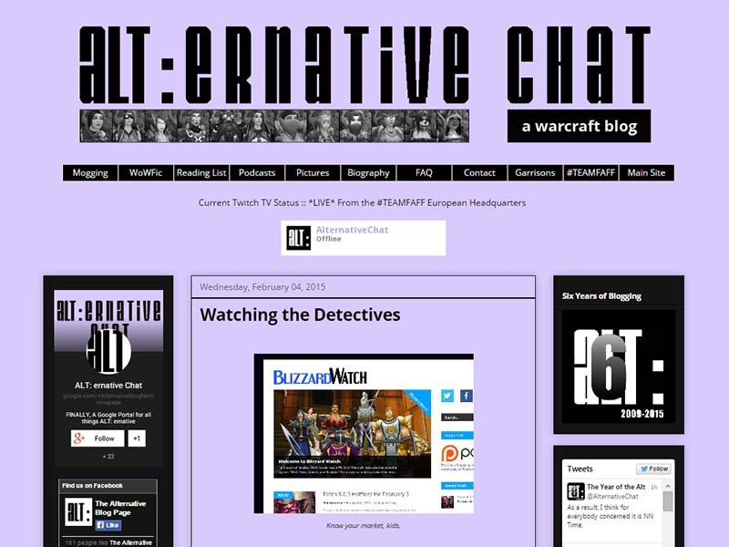 ALT:ernative Website Screenshot