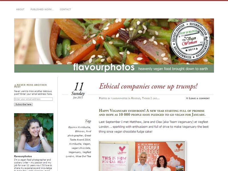 Flavourphotos Website Screenshot