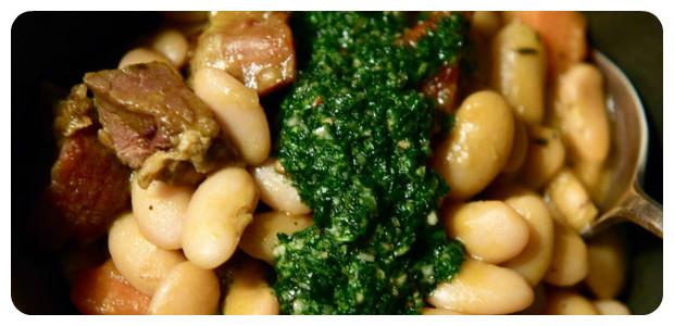Lima Bean & Ham Stew - Dish Picture