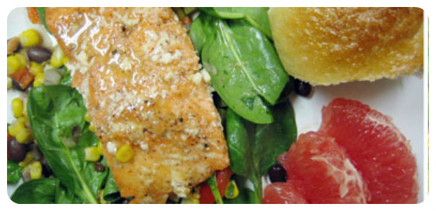 Lime & Honey Glazed Salmon - Dish Picture