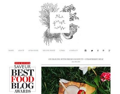 The First Mess Website Screenshot