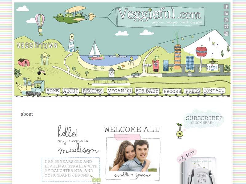 Veggieful Website Screenshot