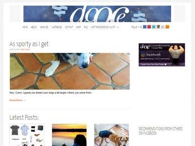 Dooce - Website Screenshot