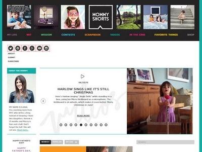 Mommy Shorts - Website Screenshot