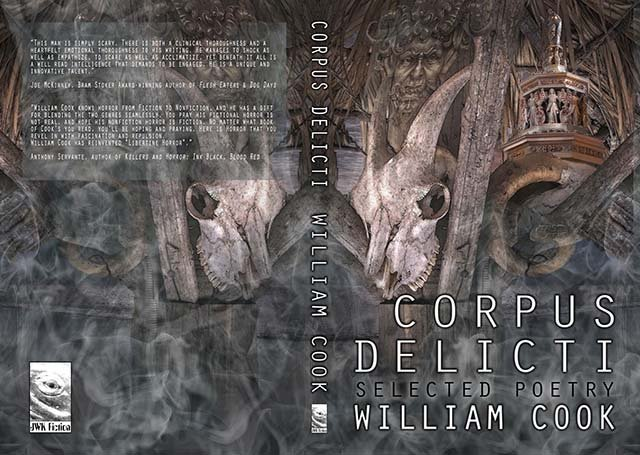 William Cook Interview - Corpus Delicti Book Frontpage