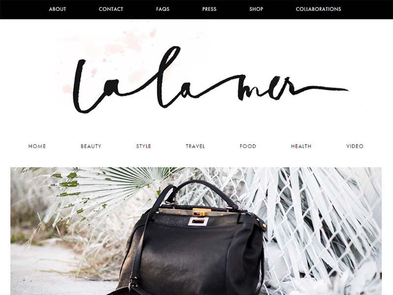La La Mer - Website Screenshot