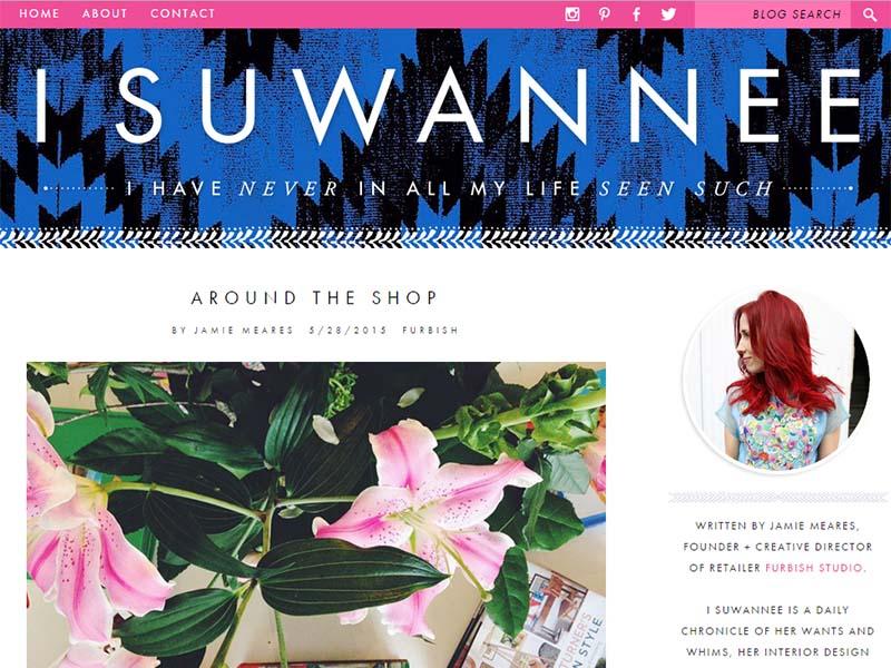 I Suwannee - Website Screenshot