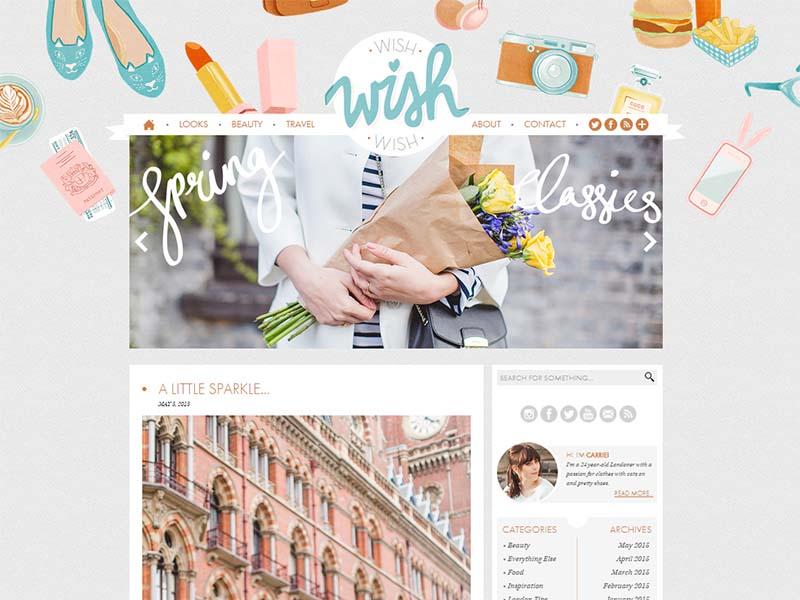 Wish Wish Wish - Website Screenshot