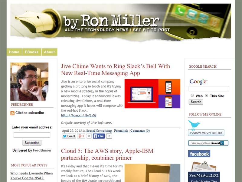 By Ron Miller - Website Screenshot