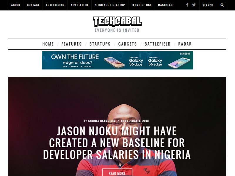 TechCabal - Website Screenshot