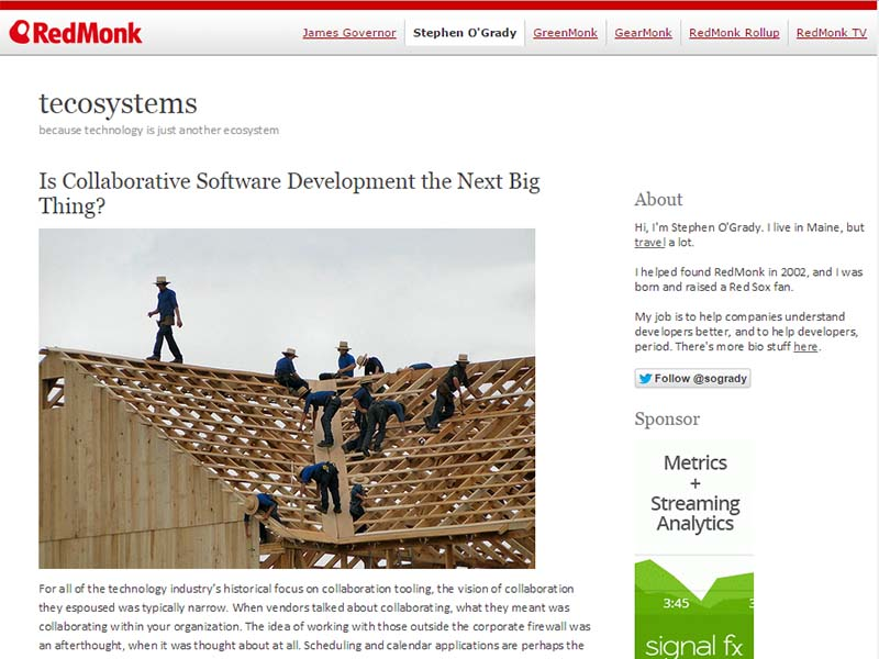 Tecosystems - Website Screenshot