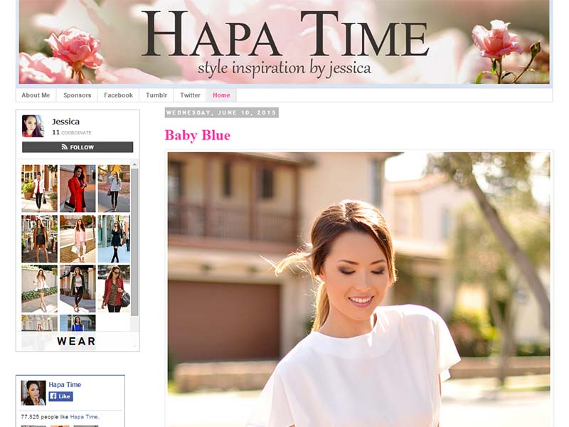 Hapa Time - Website Screenshot