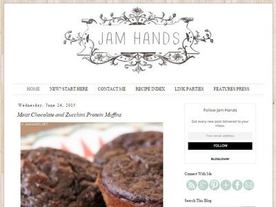 Jam Hands - Website Screenshot