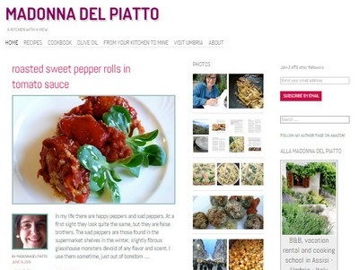 Madonna Del Piatto - Website Screenshot