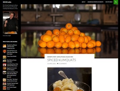 REM Cooks - Website Screenshot
