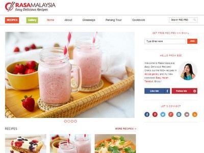 Rasa Malaysia - Website Screenshot