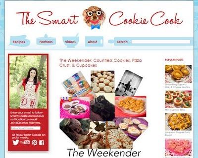The Smart Cookie Cook - Website Screenshot