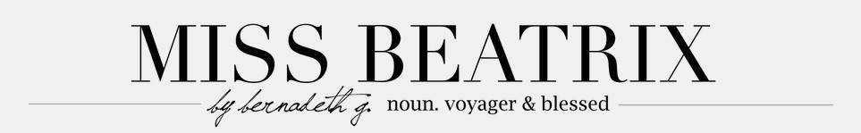 Miss Beatrix Interview - Miss Beatrix Logo