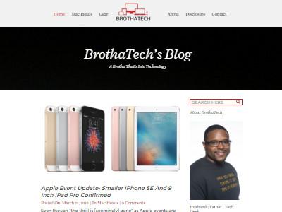Brotha Tech - Website Screenshot