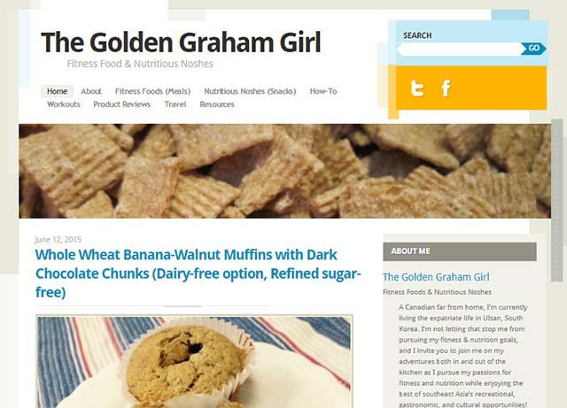 Lauren Graham Interview - Website Screenshot