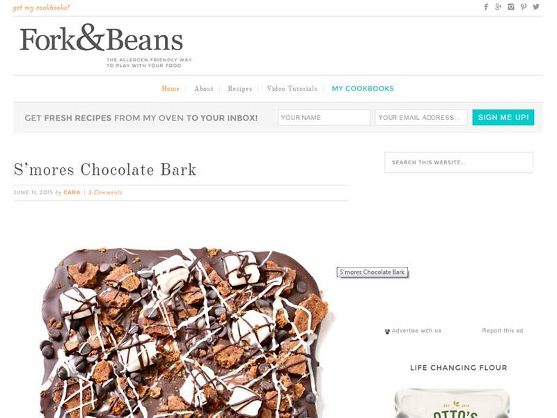 Fork and Beans Screenshot