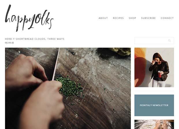 Happyolks - Website Screenshot