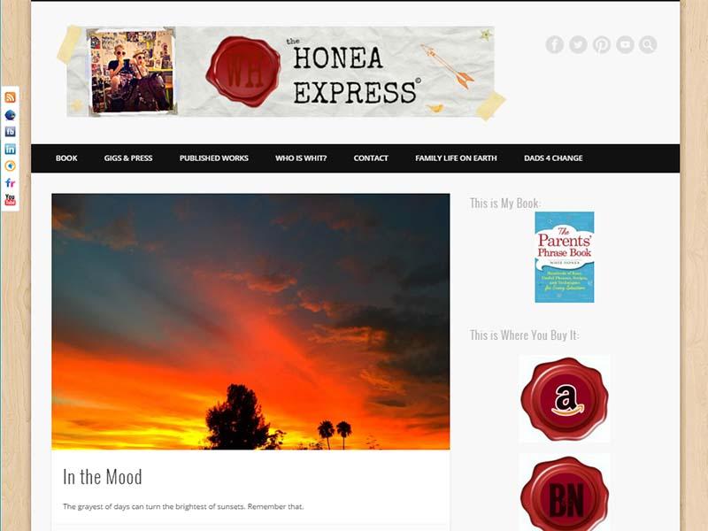 Honea Express - Website Screenshot