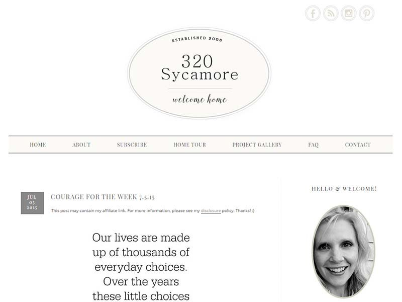 320 Sycamoreblog - Website Screenshot