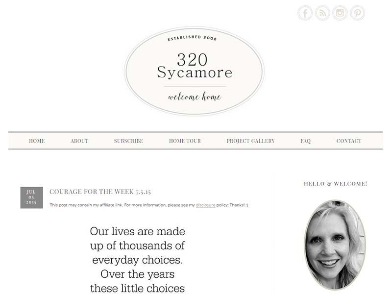 320 Sycamoreblog - Website Screenshot