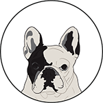 Manny The Frenchie - Author Pic