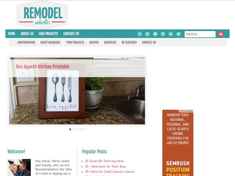 Remodelaholic - Website Screenshot