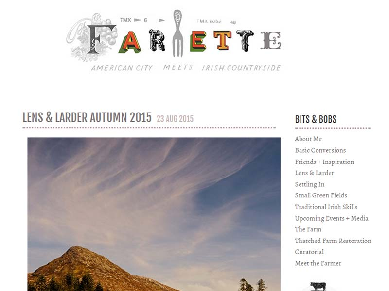Farmette - Website Screenshot