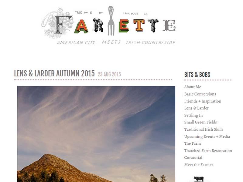 Farmette - Website Screenshot