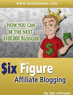 Zac Johnson Interview - The Book - Six Figure Affiliate Blogging