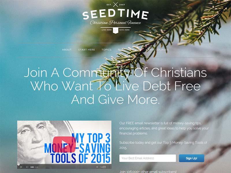 ChristianPF - Website Screenshot