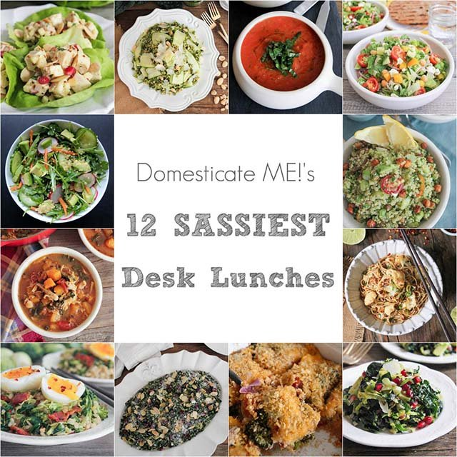 Serena Wolf - 12 Sassy Desk Lunch Recipes